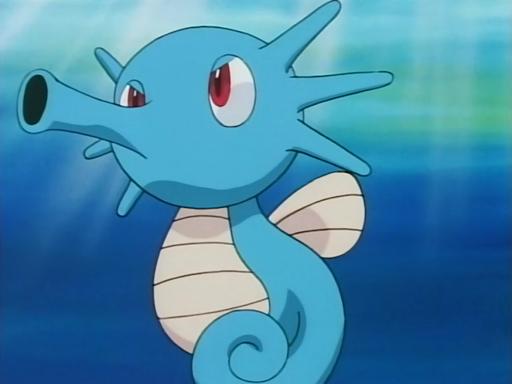 LNO 104 Pokémon Horsea