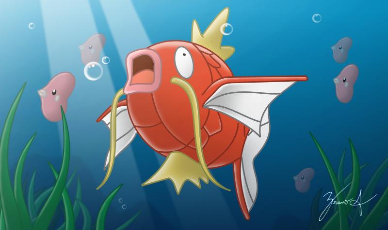 LNO 170 Pokémon Magikarp