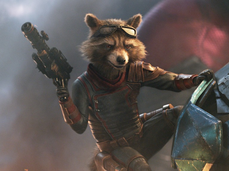 LOZ 1434 Rocket Raccoon