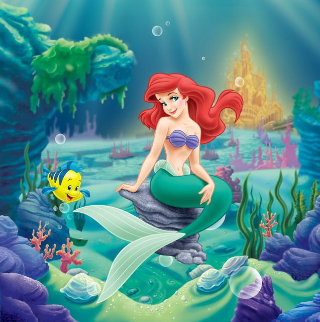 LOZ 1450 Disney Ariel