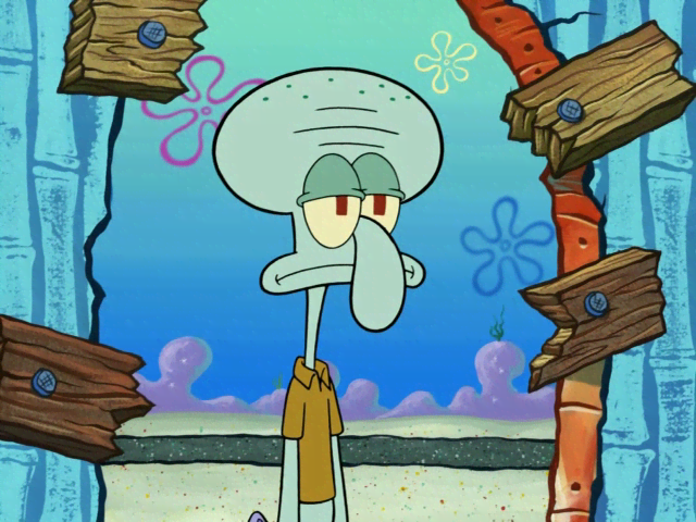 LOZ 9145 Spongebob Squidward