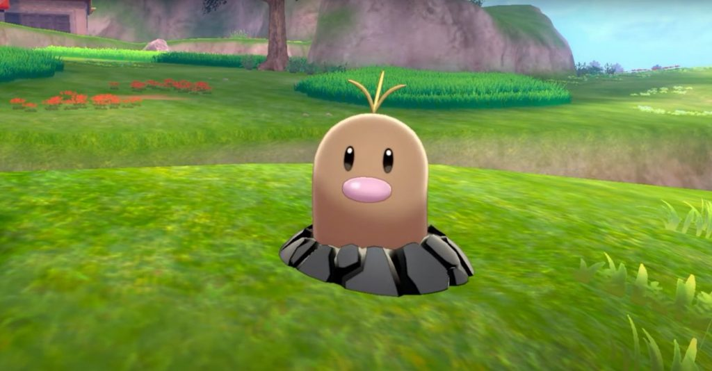 LNO 168 Pokémon Diglett