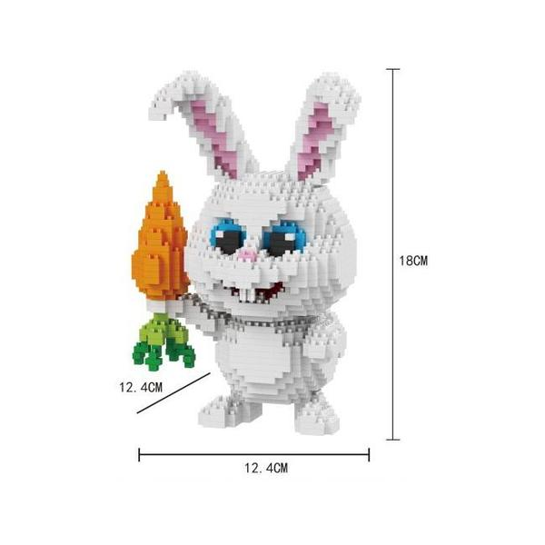 Balody White Bunny