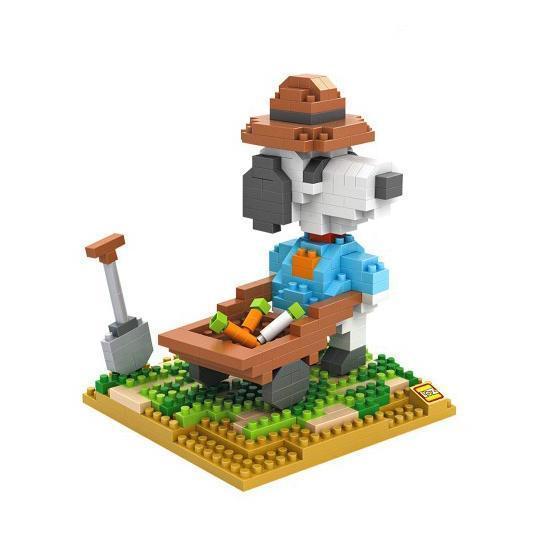 LOZ Snoopy Gardener