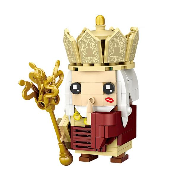 LOZ Brickheadz Journey to the West Master Gold
