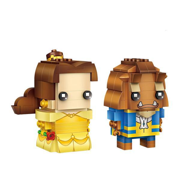 LOZ Brickheadz Belle and the beast