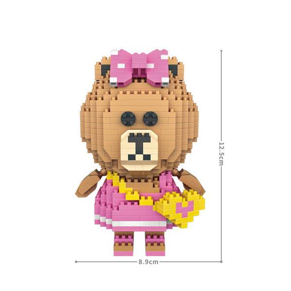 LOZ LINE Choco Pink Dress