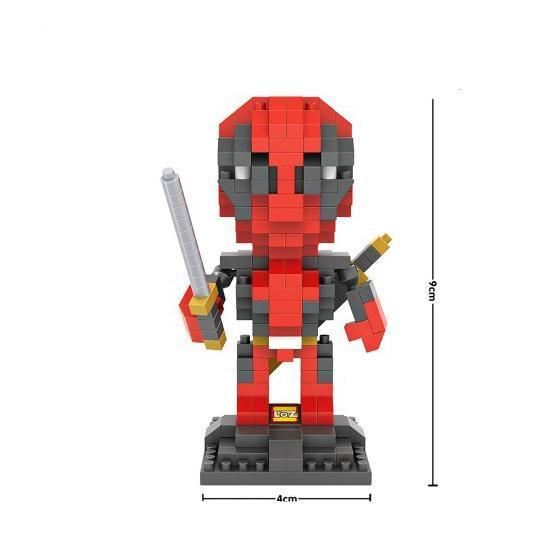 LOZ Superhero Deadpool