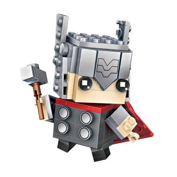 LOZ Brickheadz Thor