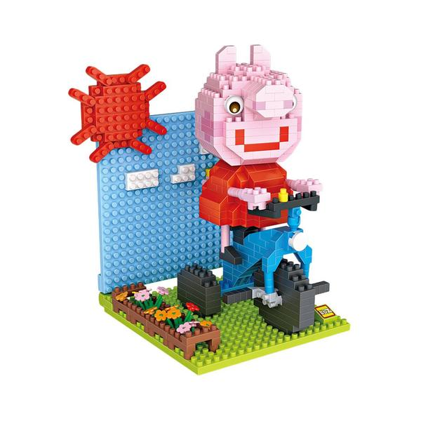 LOZ Peppa Pig Cycling