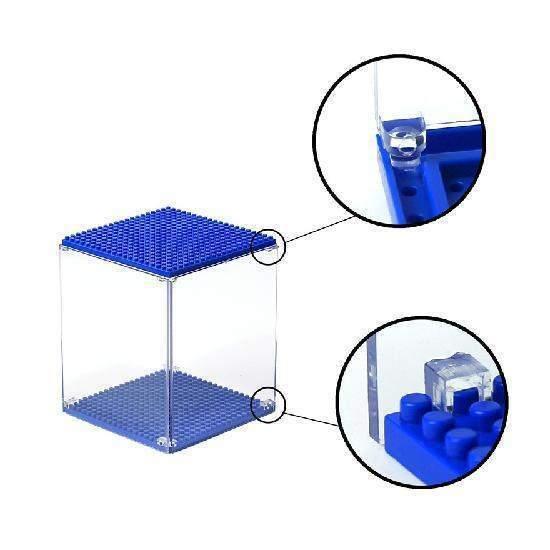 LOZ Display Case Dark Blue