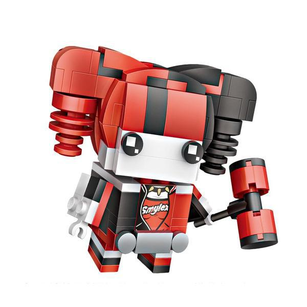 LOZ Brickheadz Harley Quinn