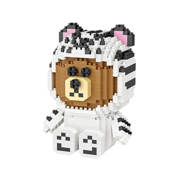 LOZ LINE Brown - White Tiger