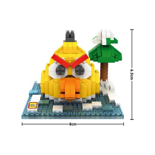 LOZ Angry Birds Chuck Small