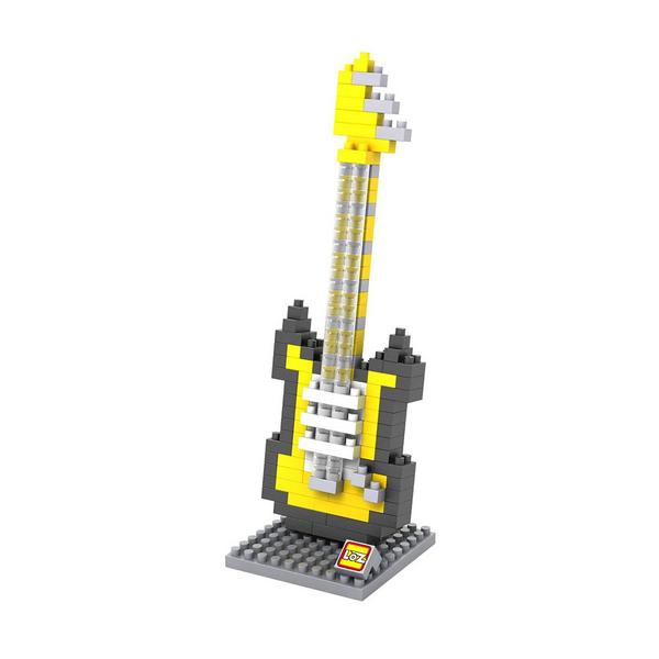 LOZ Electric Yellow Guitar