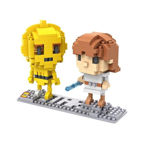 LOZ CP3O and Luke Skywalker