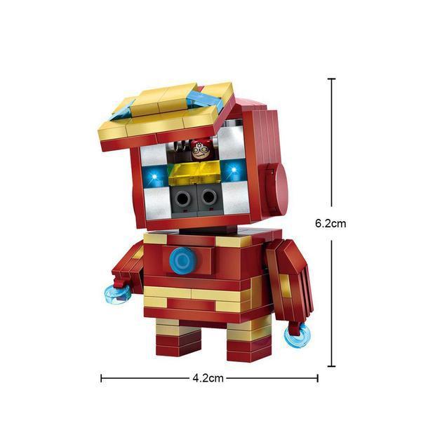 LOZ Brickheadz Iron Man
