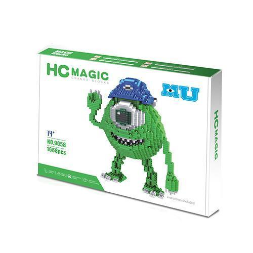Magic Blocks Monsters Inc Mike