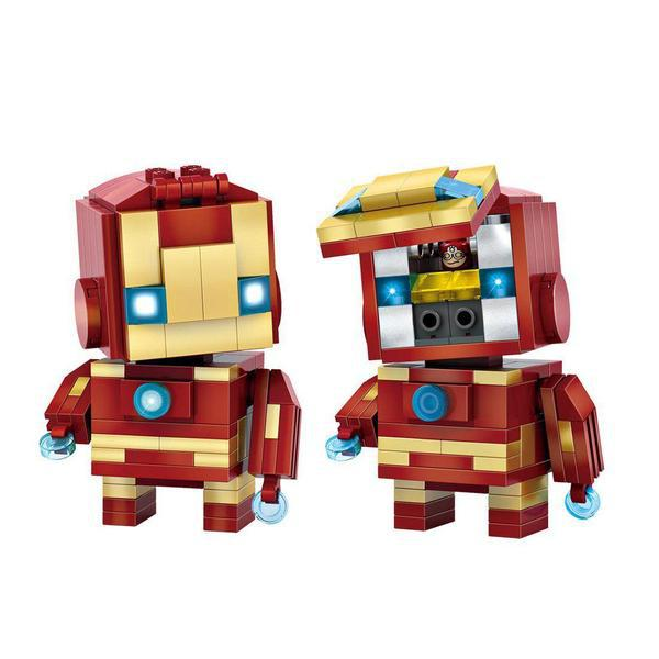 LOZ Brickheadz Iron Man 1
