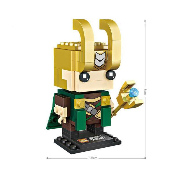 LOZ Brickheadz Loki