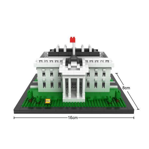LOZ Buildings Mini The White House