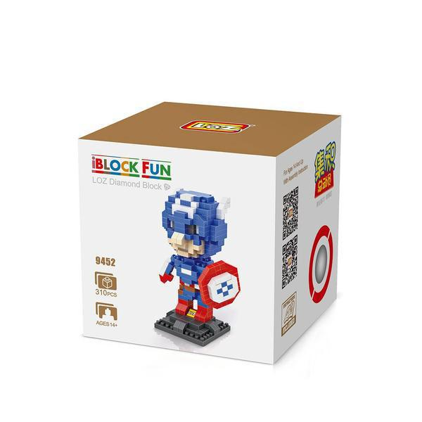 LOZ 9452 Superhero Captain America