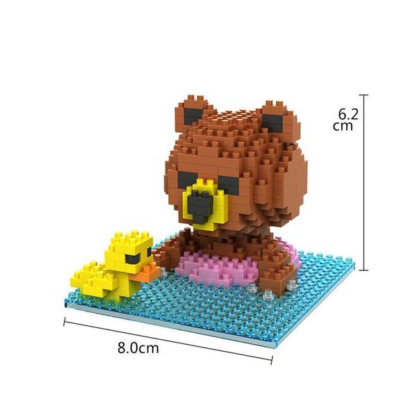 LOZ Brown Bear Swim