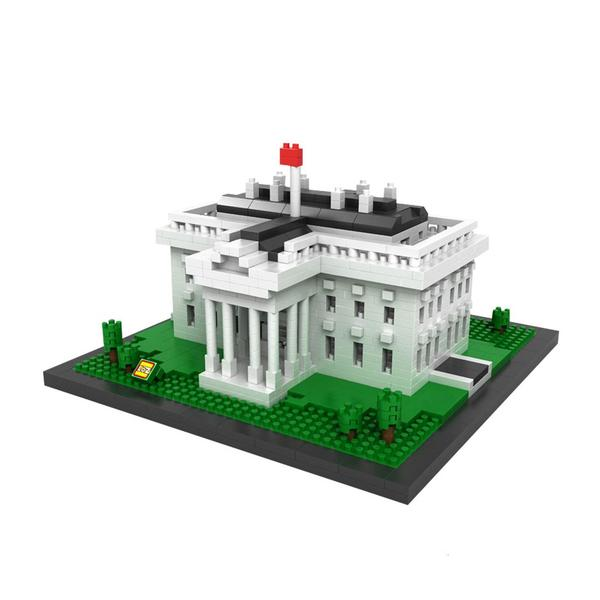 LOZ Buildings Mini The White House