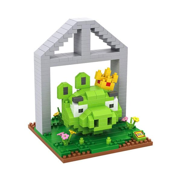 LOZ 9519 Angry Birds Small King Pig