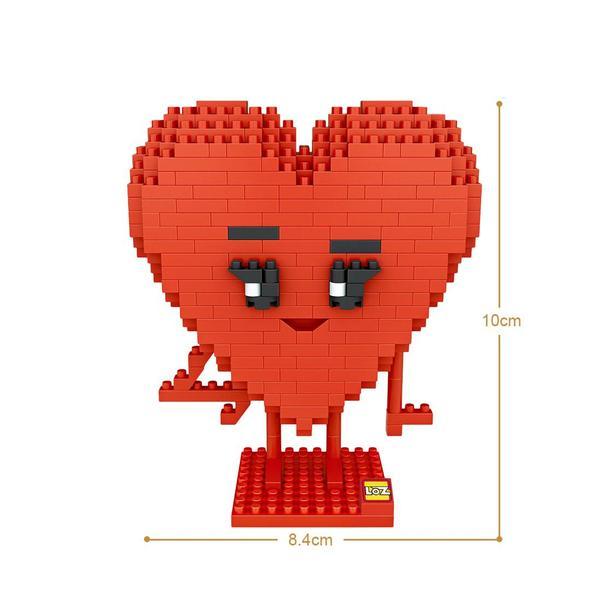 LOZ 9777 Heart Emoji