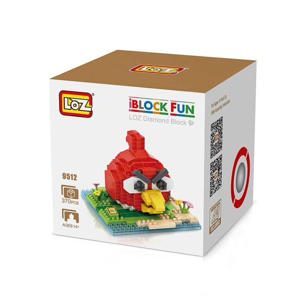 LOZ 9512 Small Red Angry Bird