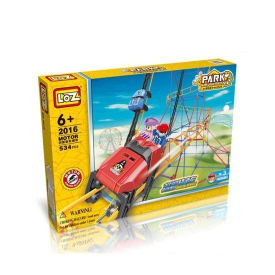 LOZ Motor Rollercoaster