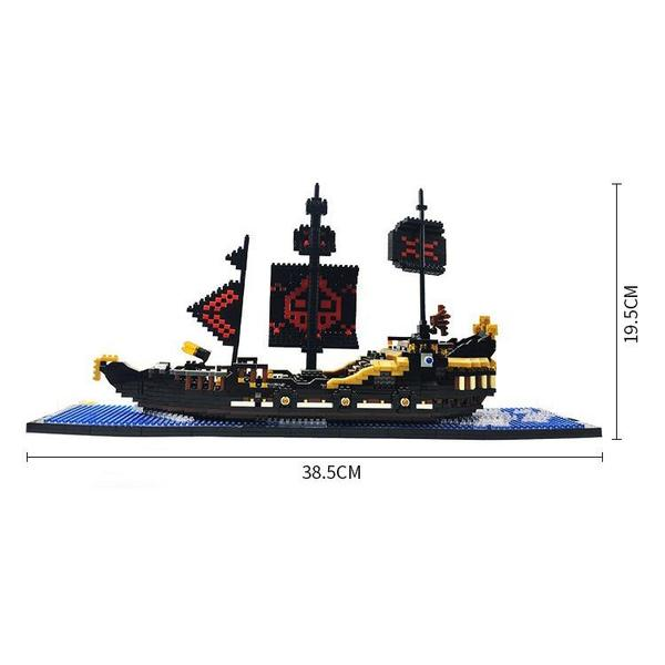 Magic Blocks Black Pearl Ship