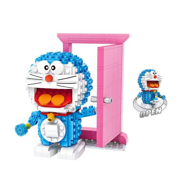 LOZ Mini Doraemon Pink Door
