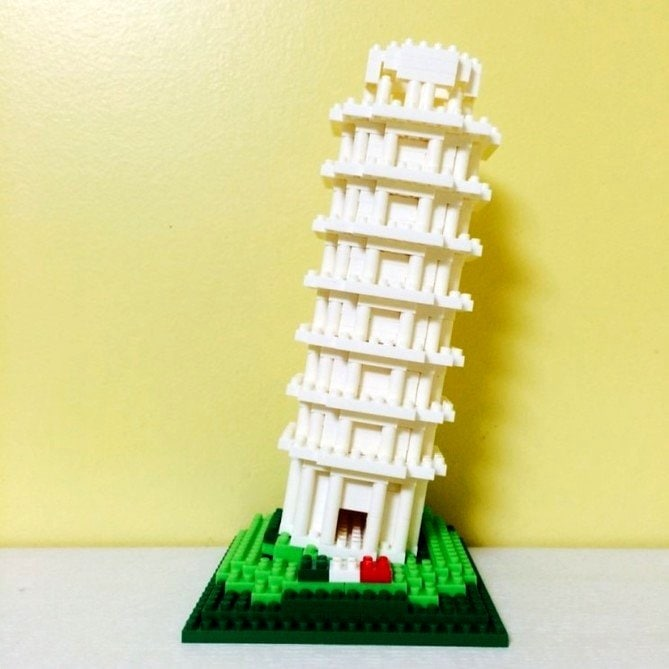 LOZ Diamond Blocks Model 9367 Leaning Tower of Pisa - 9