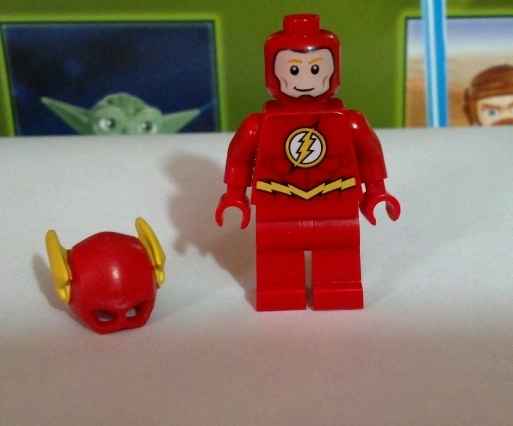 Lego Brickheads The Flash in reality