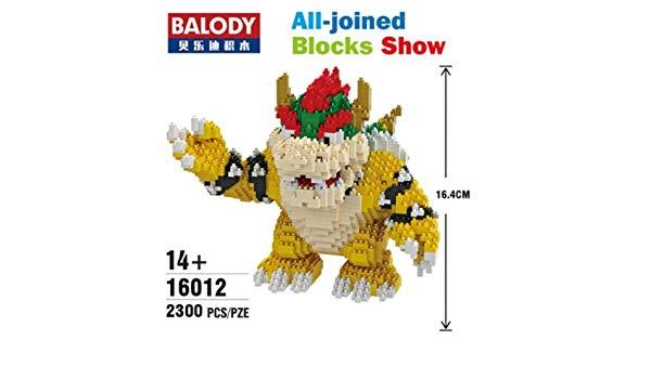 Balody Model 16012 Bowser Koopa King Anime