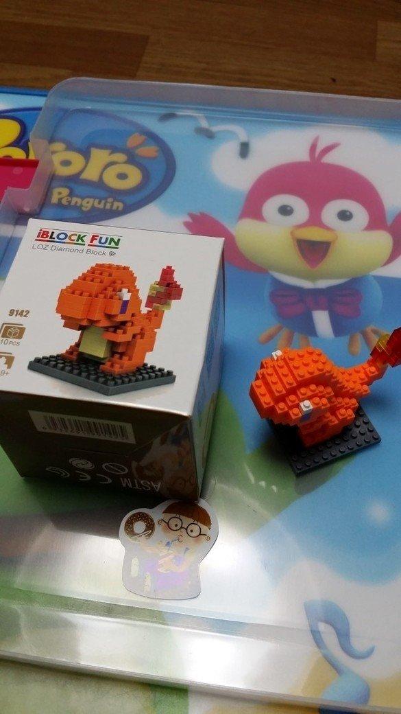Review LOZ Diamond Blocks MODEL 9142-08