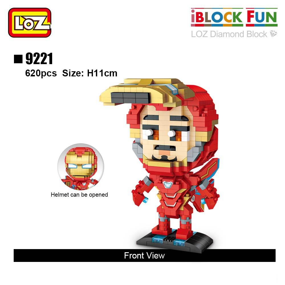 LOZ 9220-9223 Thanos and Iron Man