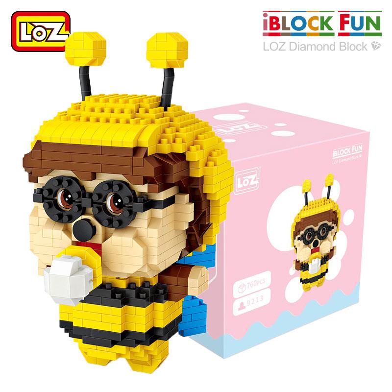 LOZ Diamond Blocks Bee & Pink Elephant