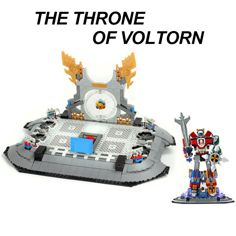 Luxury VersionLED Light Set For LEGO 21311 Voltron Compatible 16057 (Only Light Set)Kits