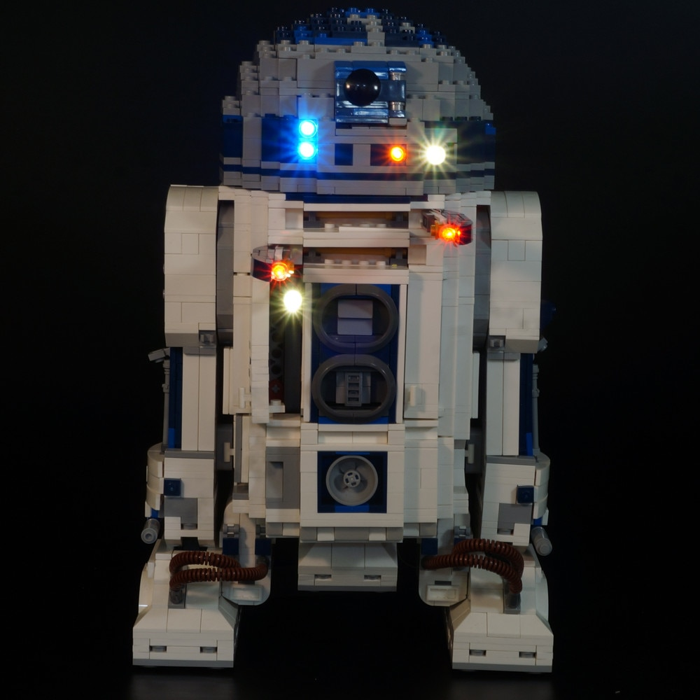 Basic Version LED Light Kit For LEGO 10225 and 05043 star wars R2-D2 Model Building blocks (Only Light Set)Kits