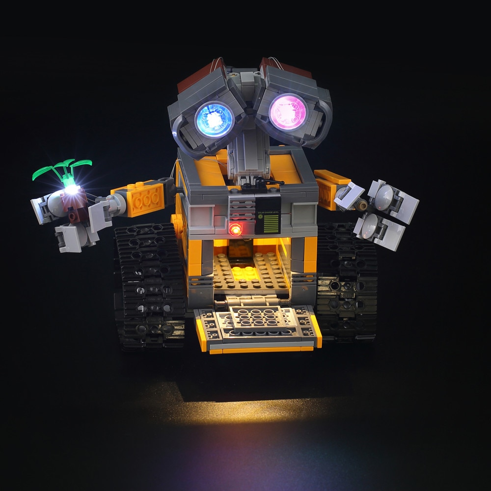 Basic Version LED Light Kit For LEGO 21303 and 16003 Idea Robot WALL E (Only Light Set)Kits