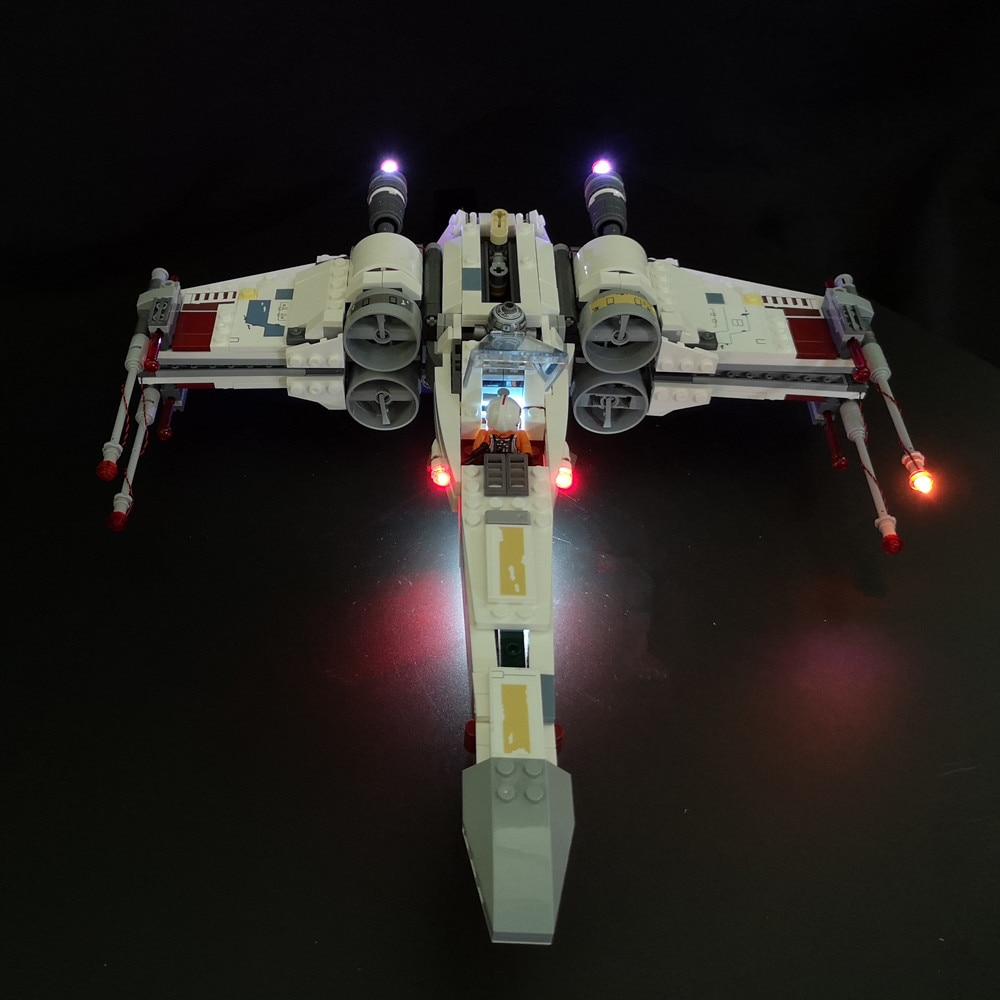 Basic Version LED Light Kit For LEGO 75218 Star Wars the X Wing Starfighter (Only Light Set)Kits
