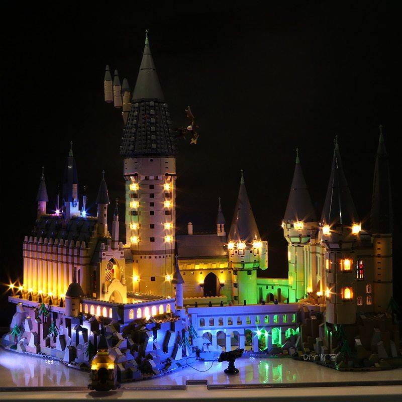 Luxury VersionLED Light Set For LEGO 71043 Hogwarts Castle Compatible LEPIN 16060 (LED Light)Kits