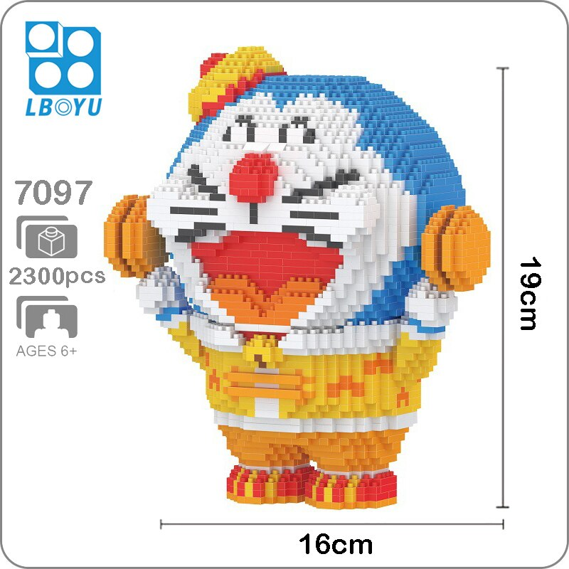 Balody 7097 Large Doraemon With Pocket Open
