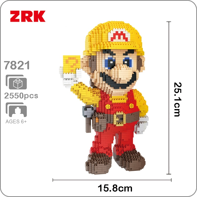 Balody 7821 Large Yellow Super Mario
