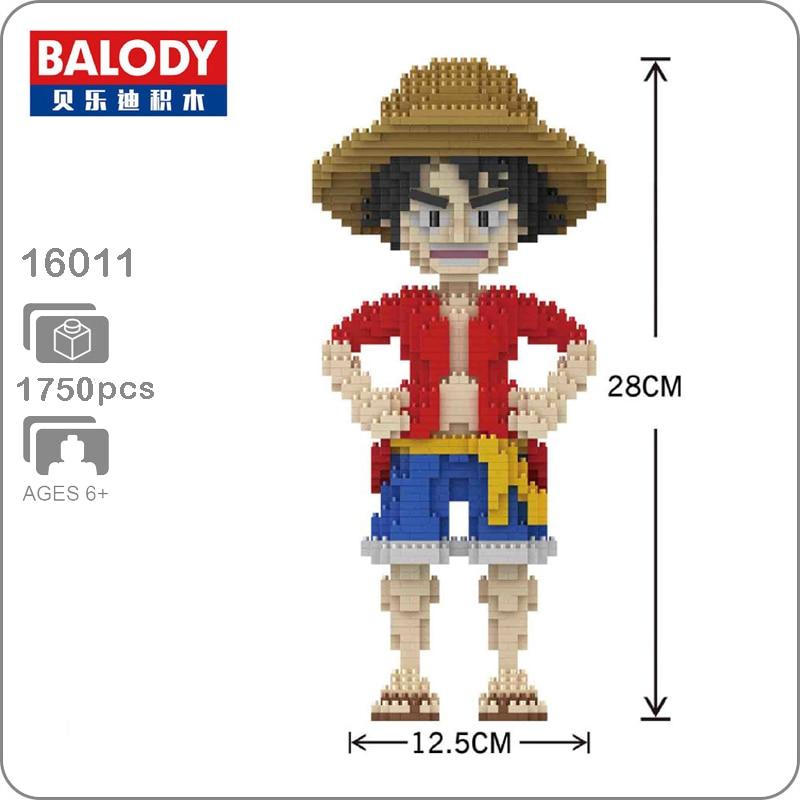 Balody 16011 One Piece Luffy XL