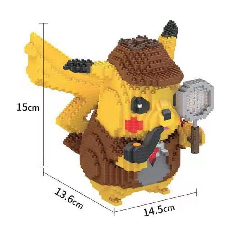 Lboyu 7081 Large Detective Pikachu