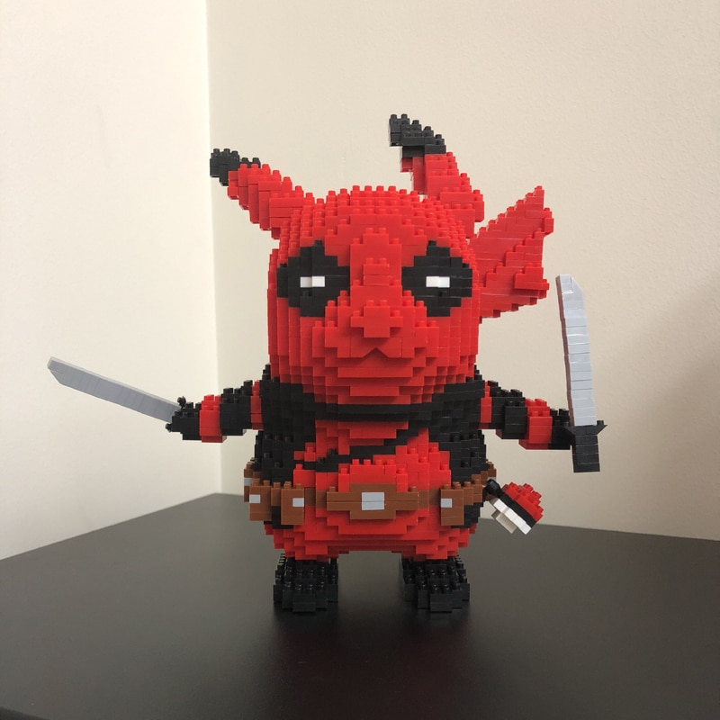 Boyu 7079 Large Deadpool Pikachu